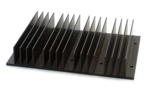 Aluminum Extruded Heat Sinks Accel Thermal Extruded